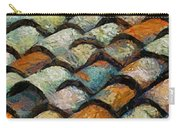 Littoral Roof Tiles Carry-all Pouch