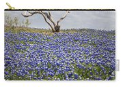 Live Bluebonnets And Dead Tree Carry-all Pouch