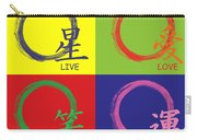 Live Laugh Love Luck Carry-all Pouch