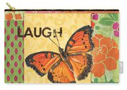 Live Laugh Love Patch Carry-all Pouch