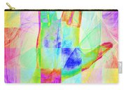 Live Long And Prosper 20150302v1 Color Squares Sq Carry-all Pouch