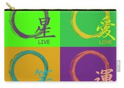 Live Love Laugh Luck Carry-all Pouch