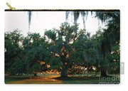 Live Oak Bathed In Evening Light Carry-all Pouch