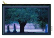 Live Oak Tree In Cemetery Carry-all Pouch