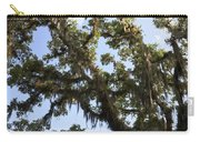 Live Oak Tree With Moss Carry-all Pouch