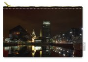 Liverpool Docks At Night Carry-all Pouch