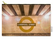 Liverpool Street Underground Carry-all Pouch