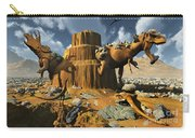 Living Fossils In A Desert Landscape Carry-all Pouch