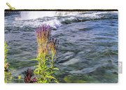 Living On The Edge Niagara Falls Carry-all Pouch