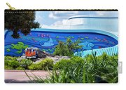 Living Seas Signage Walt Disney World Carry-all Pouch