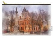 Livingston County War Memorial 01 Photo Art Carry-all Pouch