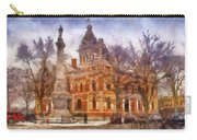 Livingston County War Memorial 02 Photo Art Carry-all Pouch