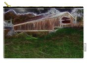 Livingston Manor Covered Bridge - Featured In Comfortable Art Group Carry-all Pouch