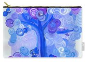 Liz Dixon's Tree Blue Carry-all Pouch