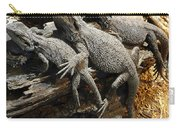 Lizards Carry-all Pouch by Les Cunliffe
