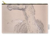 Llama Drawing Carry-all Pouch