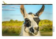 Llama Portrait Carry-all Pouch