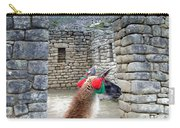 Llama Touring Machu Picchu Carry-all Pouch