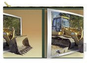 Loader - Cross Your Eyes And Focus On The Middle Image Carry-all Pouch