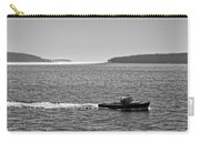 Lobster Boat And Islands Off Acadia National Park In Maine Carry-all Pouch