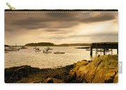 Lobster Boats Cape Porpoise Maine Carry-all Pouch