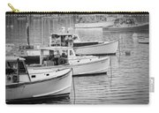 Lobster Boats In Bass Harbor And Bernard Maine  Carry-all Pouch