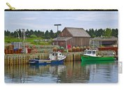 Lobster Fishing Baskets And Boats In Forillon Np-qc Carry-all Pouch