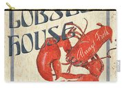 Lobster House Carry-all Pouch by Debbie DeWitt