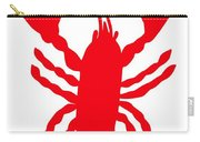 Lobster Love Heart Feelers Carry-all Pouch