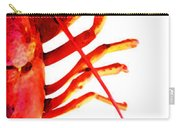 Lobster - The Right Side Carry-all Pouch by Sharon Cummings