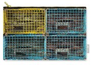 Lobster Traps Carry-all Pouch by Stuart Litoff