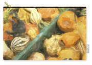 Local Glazed Gourds Painterly Effect Carry-all Pouch