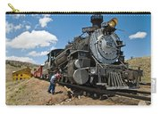 Locomotive Engineer Carry-all Pouch