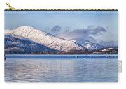 Loch Lomond Panorama Carry-all Pouch by Antony McAulay