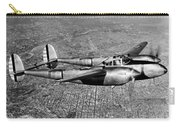 Lockheed P-38 Lightning Fighter Carry-all Pouch