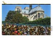 Locks Galore On The Pont De L'archeveche In Paris Carry-all Pouch