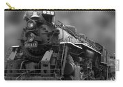 Locomotive 639 Type 2 8 2 Front And Side View Bw Carry-all Pouch
