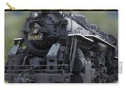 Locomotive 639 Type 2 8 2 Front And Side View Carry-all Pouch
