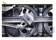 Locomotive Drive Wheels Carry-all Pouch