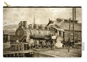 Locomotive No. 15 In The Yard Carry-all Pouch