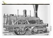 Locomotive Sandusky, 1837 Carry-all Pouch