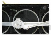 Locomotive Wheels 2 Carry-all Pouch