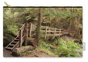Log Bridge In The Rainforest Carry-all Pouch