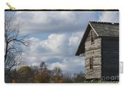 Log Cabin And November Sky Carry-all Pouch