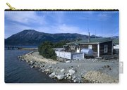 Log Cabin In Carcross Carry-all Pouch