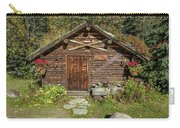 Log Cabin Kantishna, Alaska, Mnt Carry-all Pouch