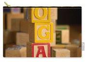 Logan - Alphabet Blocks Carry-all Pouch