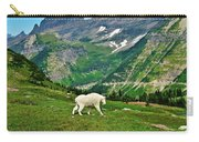Logan Pass Mountain Goat Carry-all Pouch