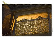 Loge Of The Sultan In Hagia Sophia  Carry-all Pouch
