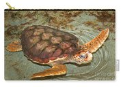 Loggerhead Sea Turtle Carry-all Pouch